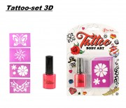 Tattoo-set 3D